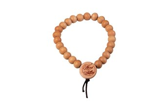 DLX Deluxe Pearl Bracelet (6mm) (wood) (wheat)