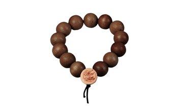 DLX Deluxe Pearl Bracelet (12mm) (wood) (brown)