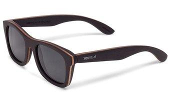 Holz-Sonnenbrille Stachus (wood) (ebony/grey)