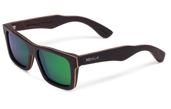 Viktualien Sunglasses (wood) (ebony/green)