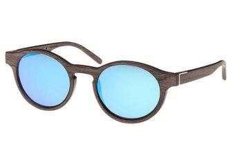 Flaucher Sunglasses (wood) (walnut/blue)