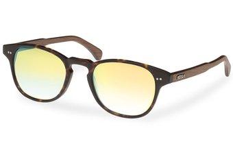 Haidhausen Sunglasses (wood-acetate) (havana/gold)