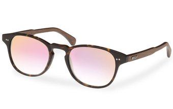 Haidhausen Sunglasses (wood-acetate) (havana/rosé)
