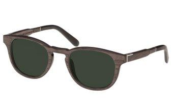Bogenhausen Sunglasses (wood) (black oak/green)