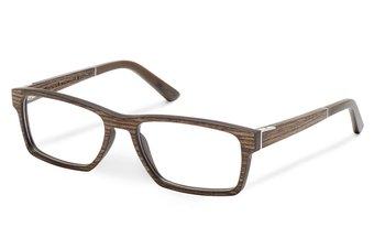 Maximilian Optical (55-18-145) (wood) (palisander)