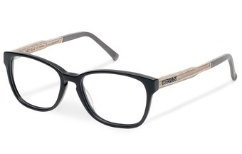 Sendling Optical Wood-Acetate (50-15-140) (chalk oak/black)