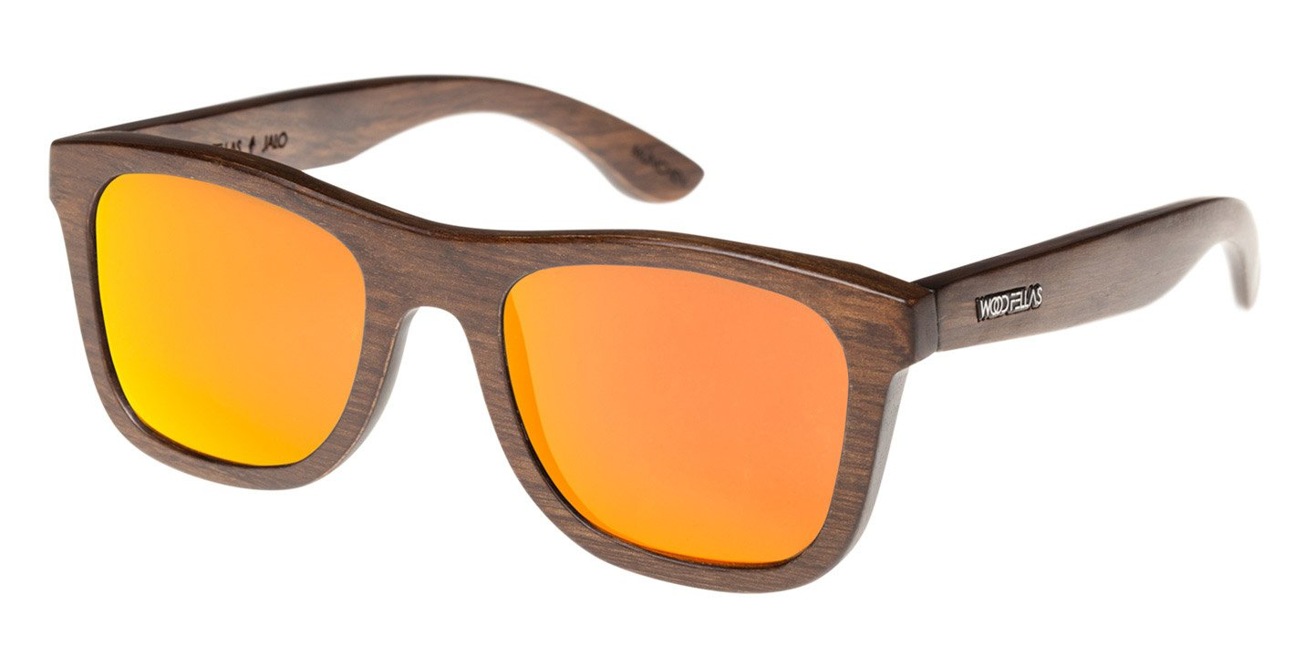 Sunglasses Jalo Mirror (wood) (brown/orange)
