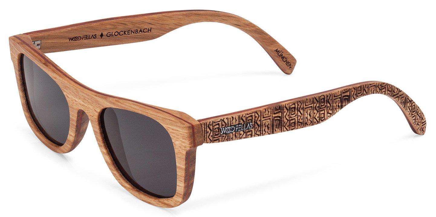 Glockenbach (SE) Sunglasses (wood) (zebrano/ethno)