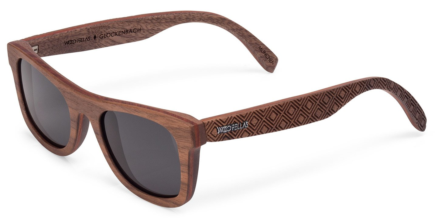 Glockenbach (SE) Sunglasses (wood) (walnut/karo)
