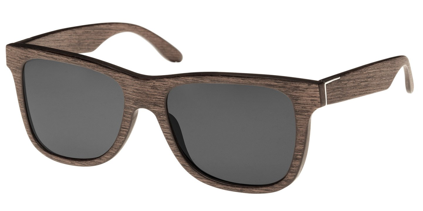 Prinzregenten Sunglasses (wood) (walnut/grey)