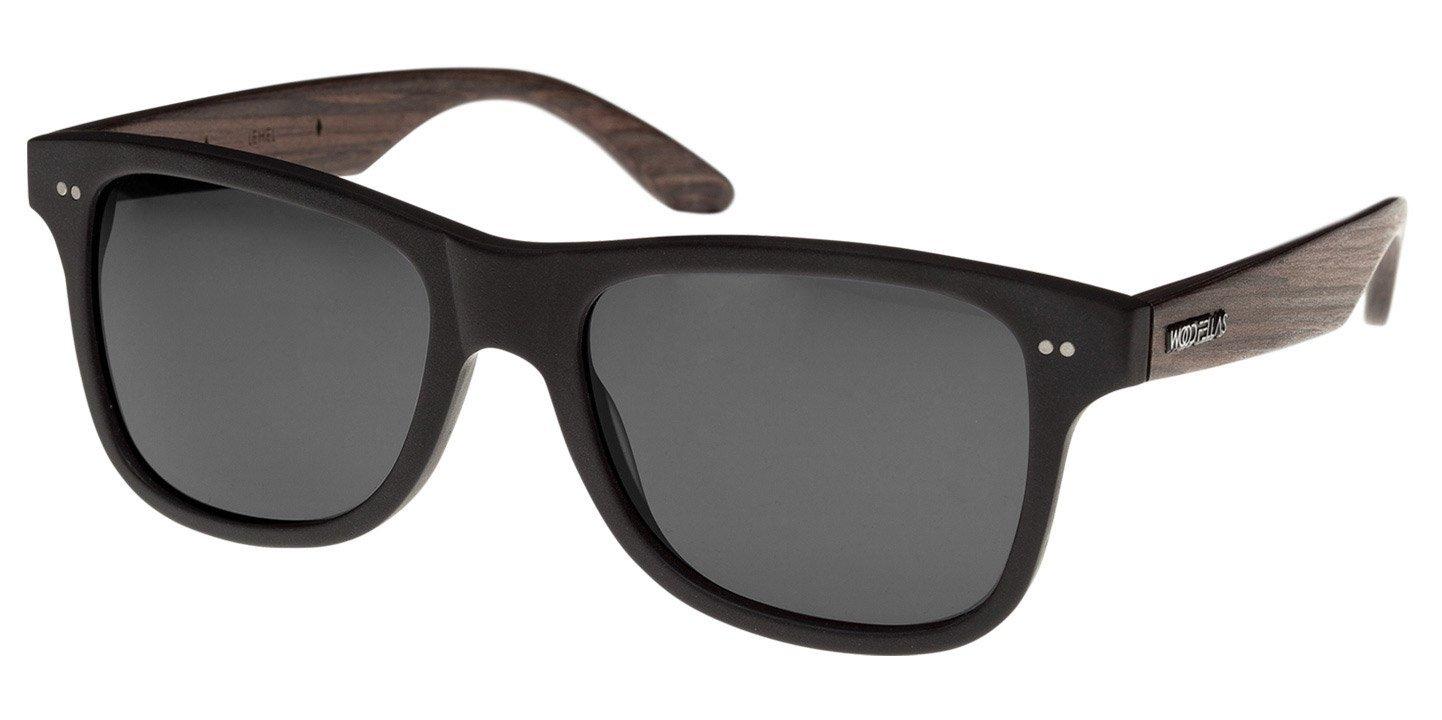 Lehel Sunglasses (wood-acetate) (black/grey)