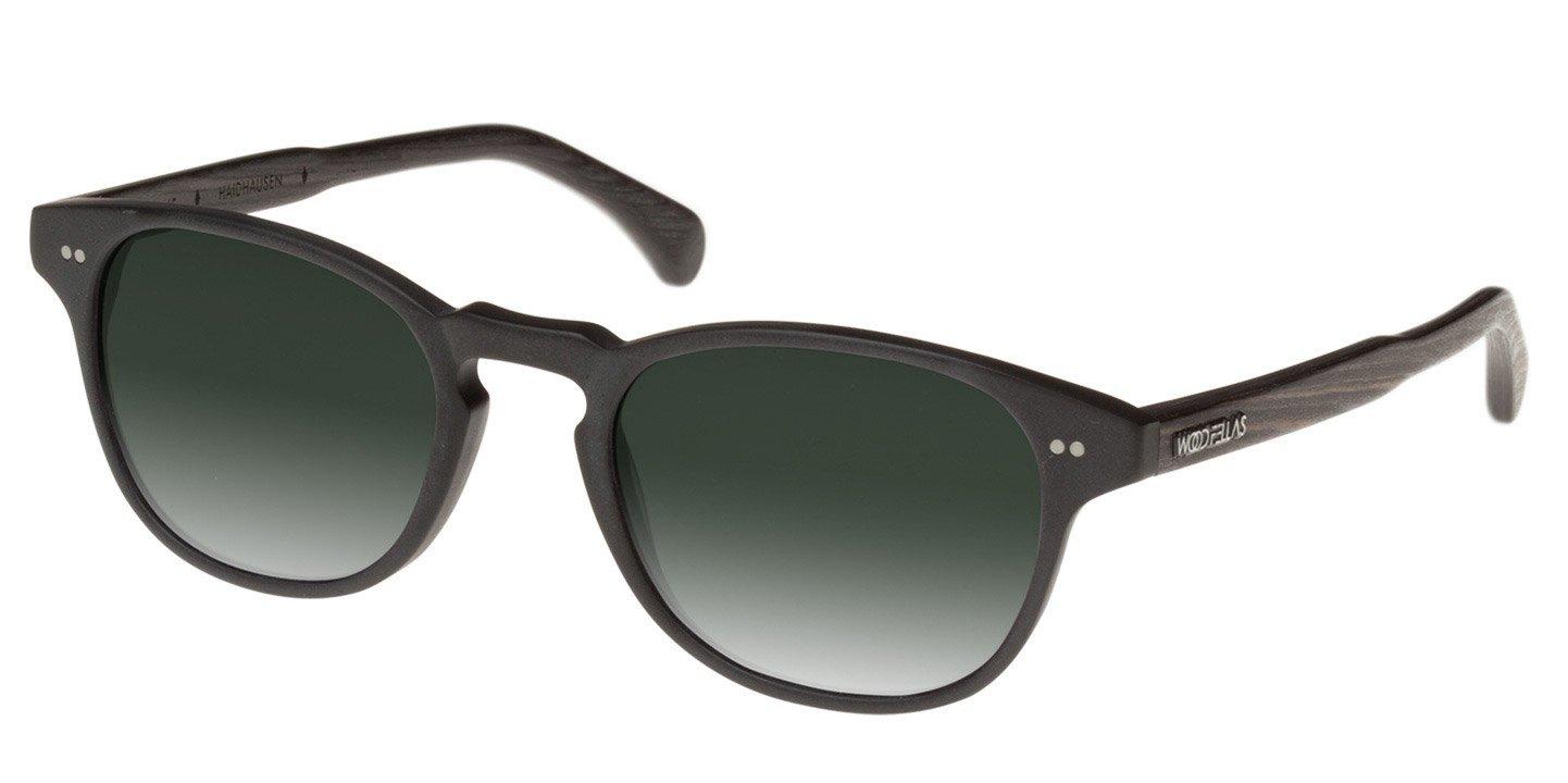Haidhausen Sunglasses (wood-acetate) (black/green)