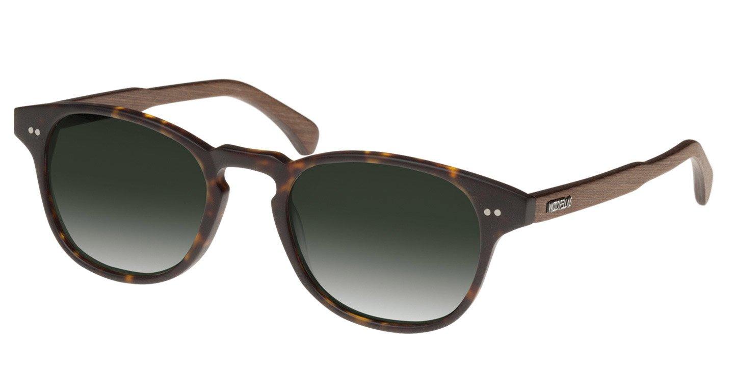 Haidhausen Sunglasses (wood-acetate) (havana/green)