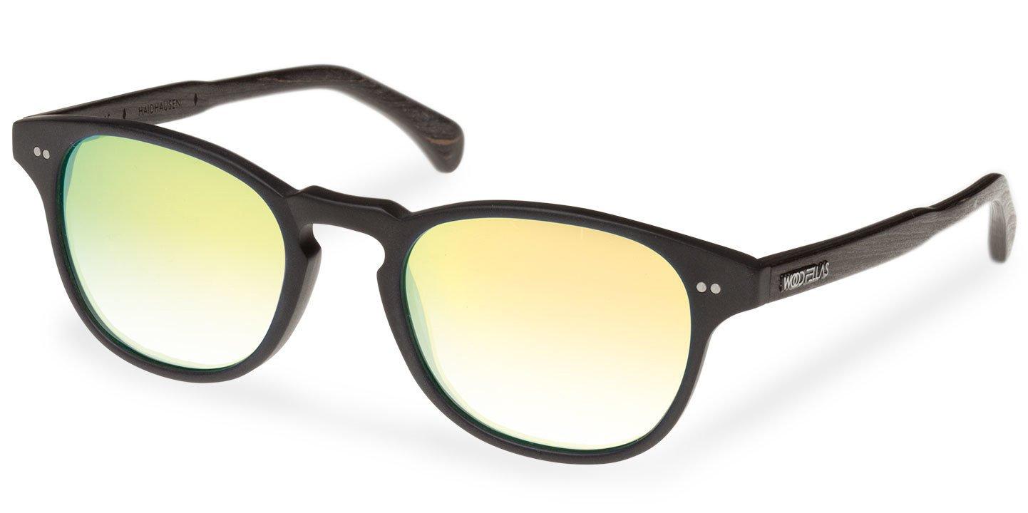 Haidhausen Sunglasses (wood-acetate) (black/gold)