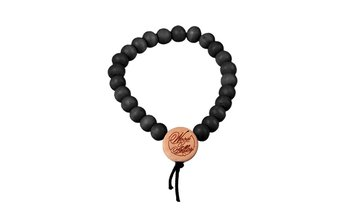 DLX Deluxe Pearl Bracelet (6mm) (wood) (black)