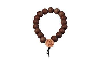 DLX Deluxe Pearl Bracelet (9mm) (wood) (brown)