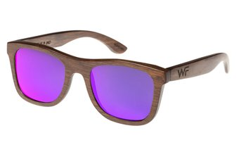 Sunglasses Jalo Mirror (wood) (brown/purple)