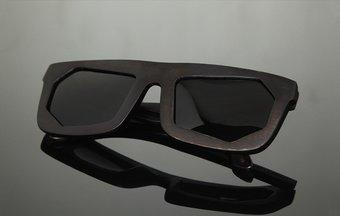 Sunglasses WF x Montaigne Street (wood) (black/grey)
