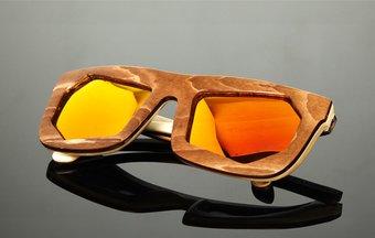 Sunglasses WF x Montaigne Street (wood) (brown)