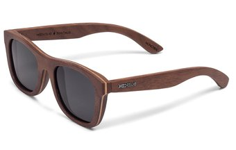 Stachus Sunglasses (wood) (walnut/grey)