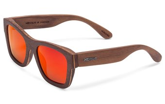 Säbener Sunglasses (wood) (walnut/red)