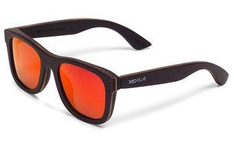 Odeon Sunglasses (wood) (ebony/red)