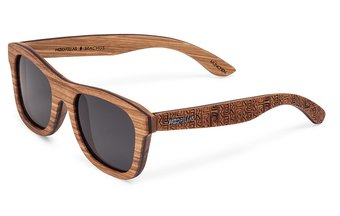 Stachus (SE) Sunglasses (wood) (zebrano/ethno)