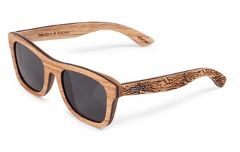 Stachus (SE) Sunglasses (wood) (zebrano/berge)