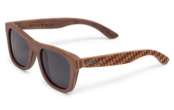 Stachus (SE) Sunglasses (wood) (walnut/raute)