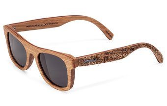 Glockenbach (SE) Sunglasses (wood) (zebrano/grey)