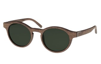 Flaucher Sunglasses (wood) (black oak/green)