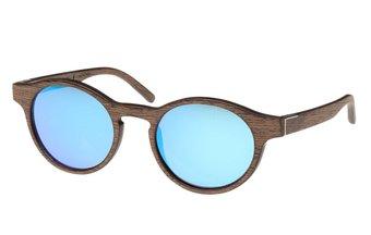Flaucher Sunglasses (wood) (black oak/blue)