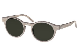 Flaucher Sunglasses (wood) (chalk oak/green)