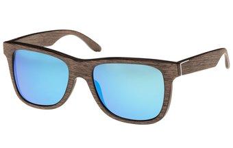 Prinzregenten Sunglasses (wood) (walnut/blue)