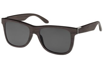 Wood Fellas Unisex Holz-Sonnenbrille Säbener walnut/grey One VOSwf0Jfwn