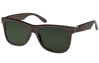 Prinzregenten Sunglasses (wood) (black oak/green)