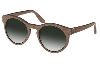 Au Sunglasses (wood) (walnut/green)