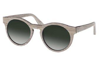 Au Sunglasses (wood) (chalk oak/green)