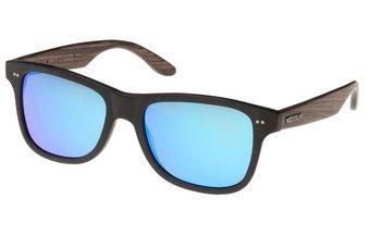 Lehel Sunglasses (wood-acetate) (black/blue)