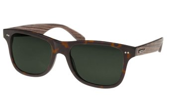 Lehel Sunglasses (wood-acetate) (havanna/green)