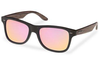 Lehel Sunglasses (wood-acetate) (black/rosé)