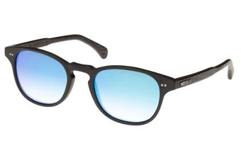 Haidhausen Sunglasses (wood-acetate) (black/blue)
