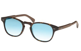 Haidhausen Sunglasses (wood-acetate) (havana/blue)
