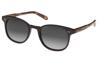 Schwabing Sunglasses (wood-acetate) (black/grey)
