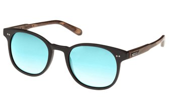Schwabing Sunglasses (wood-acetate) (black/blue)