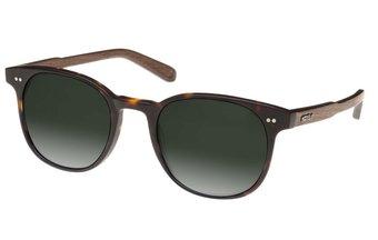 Schwabing Sunglasses (wood-acetate) (havana/green)