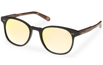 Schwabing Sunglasses (wood-acetate) (black/gold)