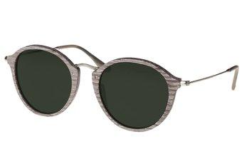 Nymphenburg Sunglasses (53-20-145) (wood) (chalc oak/green)