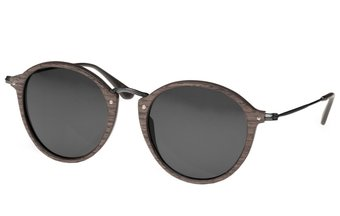 Nymphenburg Sunglasses (47-21-145) (wood) (black oak/grey)
