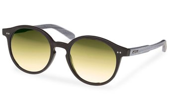 Solln Sunglasses (wood-acetate) (black/gold)